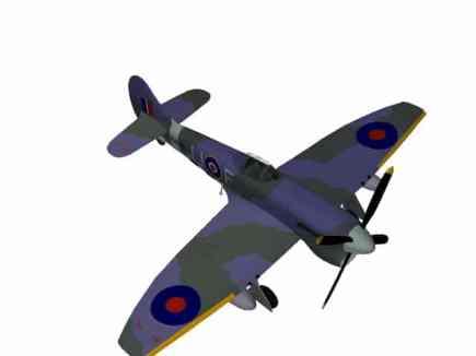 3D-Modell Hawker Tempest V