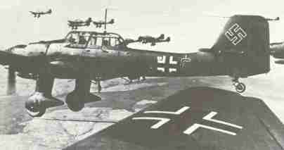 Ju87B Stuka dive-bomber