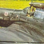 Junkers Ju 87 B Sturzkampfbomber der 3.Gruppe des Sturzkampfgeschwaders 1