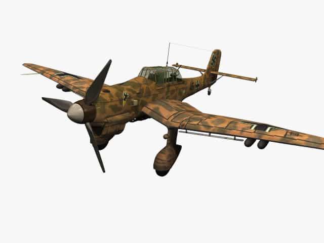 3D-Modell Junkers Ju 87 B Stuka (Trop)