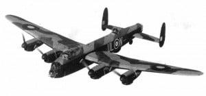 Lancaster wurden auch für taktische Angriffe verwendet