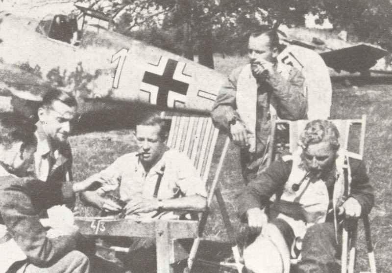 Jagdpiloten der Luftwaffe