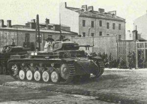 PzKpfw II in Warschau