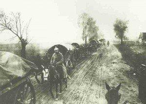 Transportkolonne deutsche 9. Armee