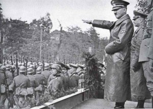 Deutsche Siegesparade in Warschau