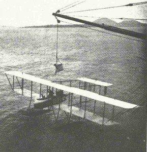 Japanisches Farman Wasserflugzeug