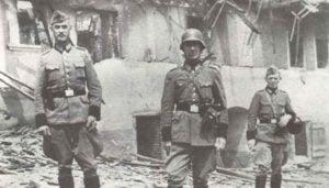 SS-Soldaten in Lidice