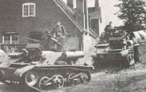 englische leichte Panzer Mk VIC