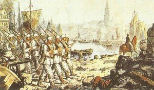 Einzug deutscher Truppen in Antwerpen