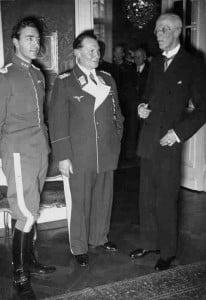 Schwedens König Gustav Adolf 1939