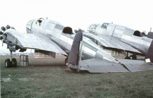 erbeutete polnische Bomber