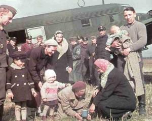 Rückführung deutscher Flüchtlinge nach Polen