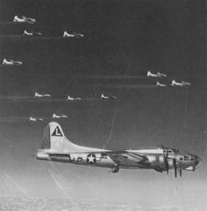 B-17G der 381 Bombergruppe