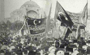Ausrufung Heiliger Krieg in Konstantinopel