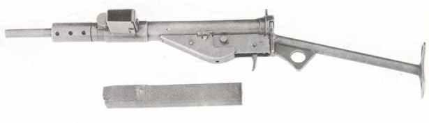 Sten Mk 2 Version ohne Abzugsbügel