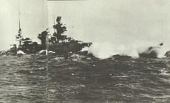 Scharnhorst in schwerer See
