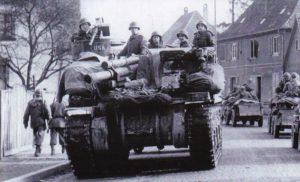 US M7 105-mm-Selbstfahrlafette Hagenau