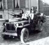 Französischer SAS-Jeep