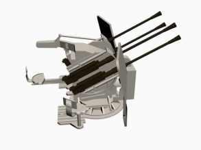 3d-Modell Flakvierling 38