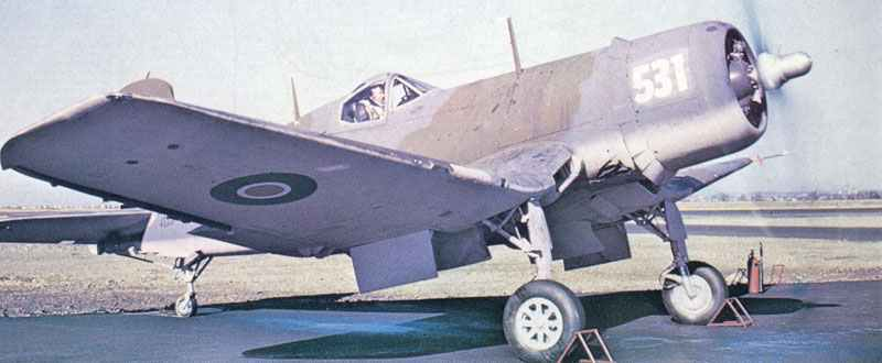 F4 Corsair der Royal Navy