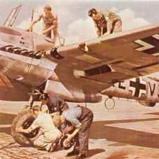 Bf 110 D mit Dackelbauch