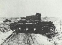 Panzer-Übung in der Eifel