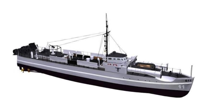 Schnellboot S11