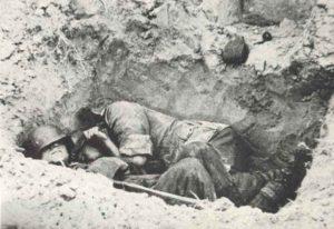 Massengrab Wehrmachtsoldaten