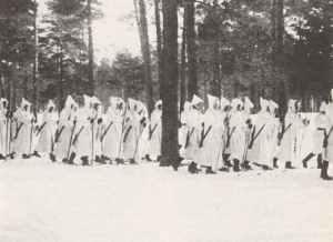 Finnische Ski-Truppen
