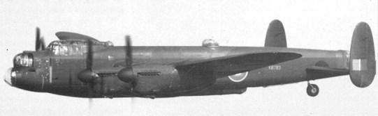 Lancaster mit 12.000-Pfund-Bombe