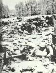Trümmer der russischen 44. Schützendivision