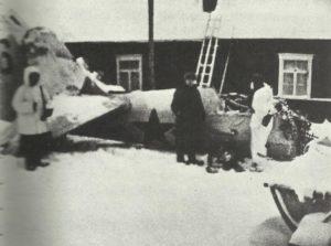 Abgeschossene Tupolew SB-2 in Nordfinnland