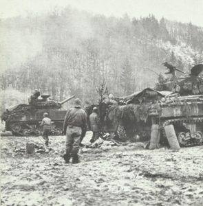 US-Panzer stoppen deutschen Vormarsch