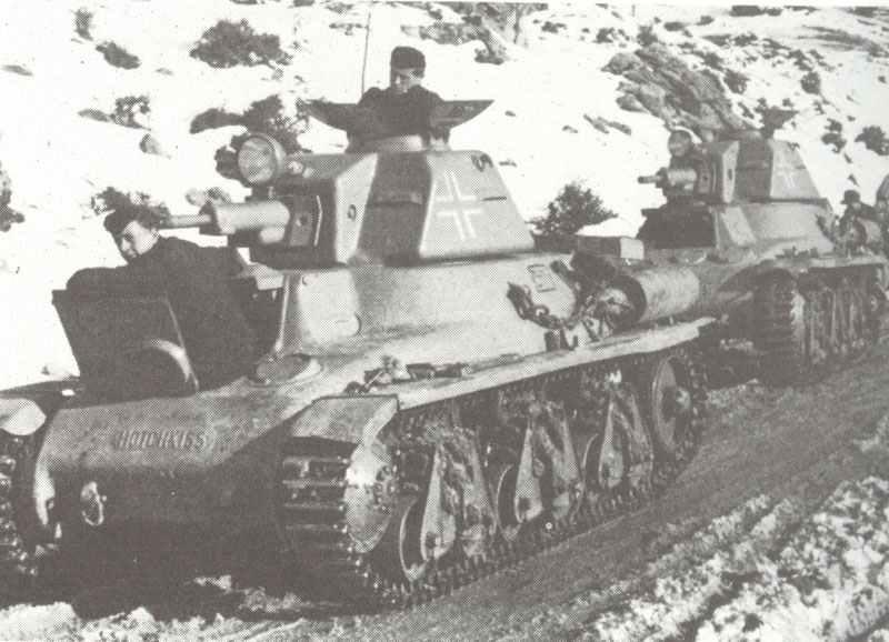 Erbeutete franz 246 sische hotchkiss h 35 panzer bei der ss ision