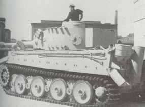 Tiger I für BahntransportTiger I für Bahntransport