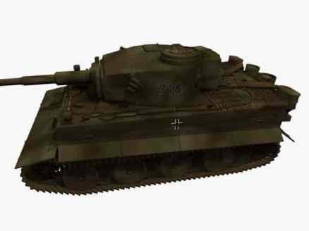 3d-Modell PzKpfw VI Tiger I