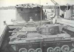 Valentine-Panzer für Russland im Iran