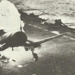 Corsair brennt auf englischem Träger