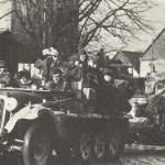 deutsche PAK auf dem Weg zur Ostfront