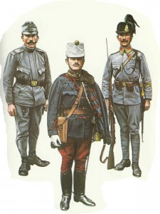 Ungarische Soldaten 1914/15