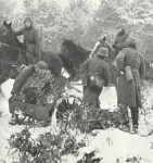 Infanteriegeschütz am Westwall.