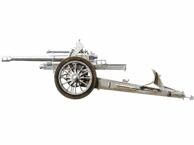3D-Modell 105mm leFH 18 Feldhaubitze