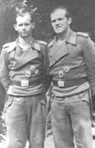 StuG Mannschaft im Reichswald
