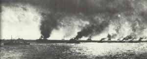 Alliierte Flotte Dardanellen