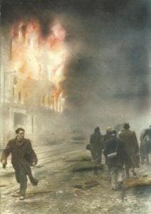 Berlin nach US-Luftangriff