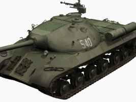 3D-Modell Josef Stalin JS 3