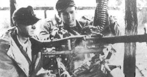 MG42-Unterstützungstrupp