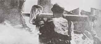 Panzerschreck im Einsatz