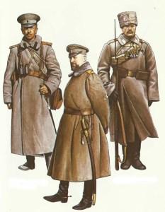 Russische Offiziere 1914-1917