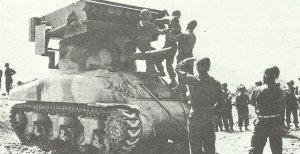 Raketenwerfer T40( M17) 'Whiz-bang'